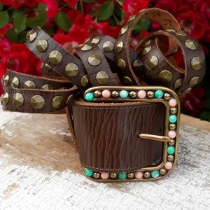 Ariat Triple Band Waist Belt - New, size 34/85